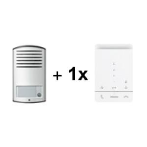369911 - Audiokit met Linea 2000 1 drukknop en 1 x Classe 100A16E